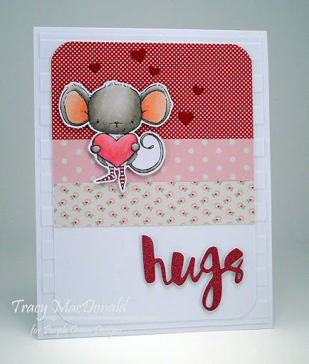 Tracy MacDonald - Heartfelt Hugs Card
