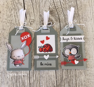 Debra James - Valentine Tags