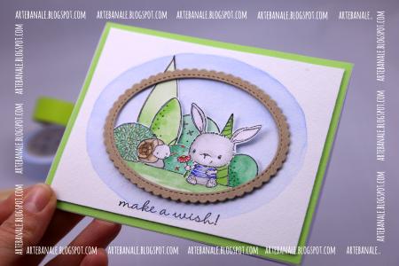 Agnieszka Danek-Wisniak - Make a Wish Card - detail