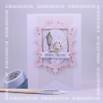 Agnieszka Danek-Wisniak - Silver and Birdhouse Get Well Soon Card