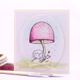 Agnieszka Danek-Wisniak - Toadstool - Sky and Star Card