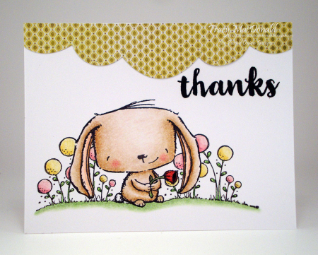 Paula Williamson - Rosie Thanks Card