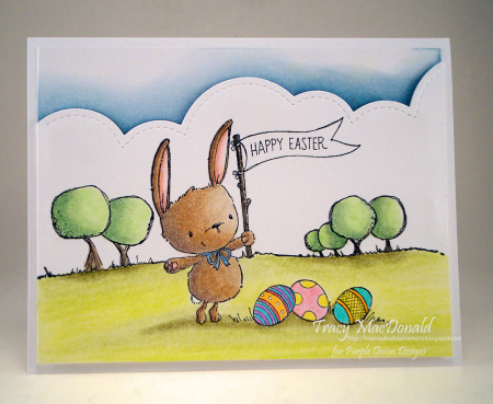 Tracy MacDonald - Ivy Easter Card