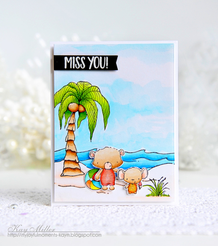 Kay Miller - Beach Card