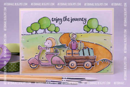 Agnieszka Danek-Wisniak - Cruiser on Country Road Card