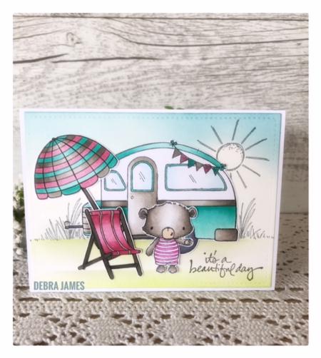 Debra James - Camper and Beach Card