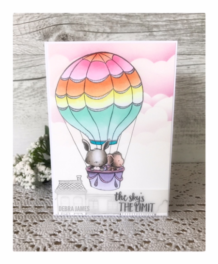 Debra James - Up and Away Card