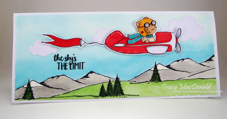 Tracy MacDonald - TBird and Banner Card