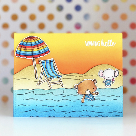 Amy Yang - Beach Card