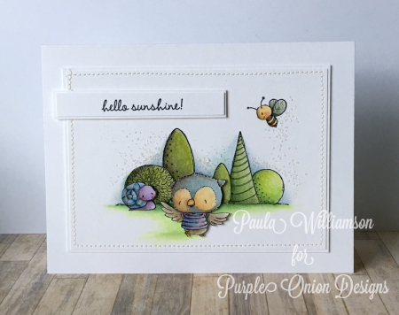 Paula Williamson - Ruby Hello Sunshine Card