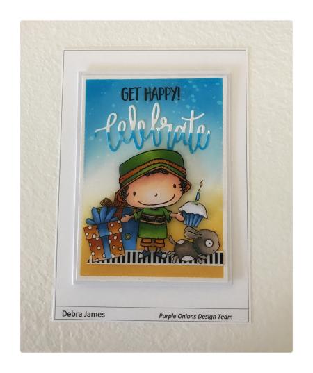 Debra James - Rayne Celebrae Card