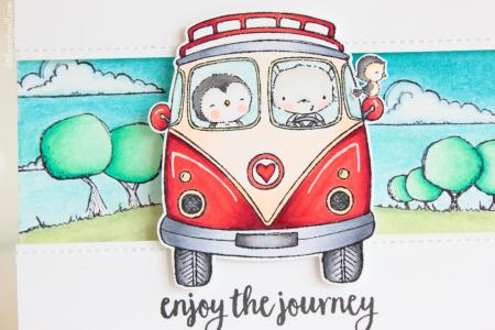 Amanda Korotkova - Purple Onion Enjoy the Journey Close