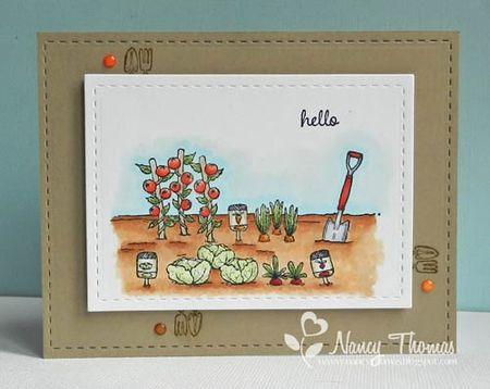 Nancy Thomas - Veggie Garden Garden Tool 2