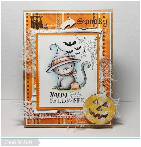 Susen Srb - Midnight Halloween Card
