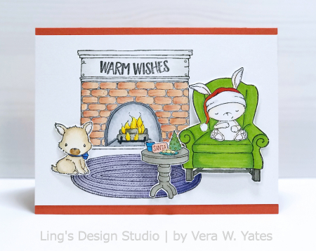 Vera Yates - Fireplace and Sugar Plum