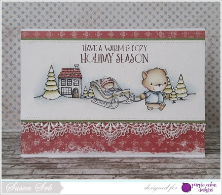 Susen Srb - Theodore and Little Home Sweet Home card