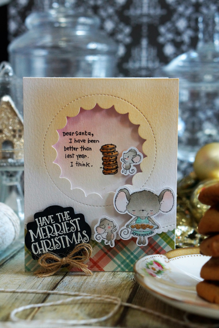 Sally On - Dear Santa Sweets Card