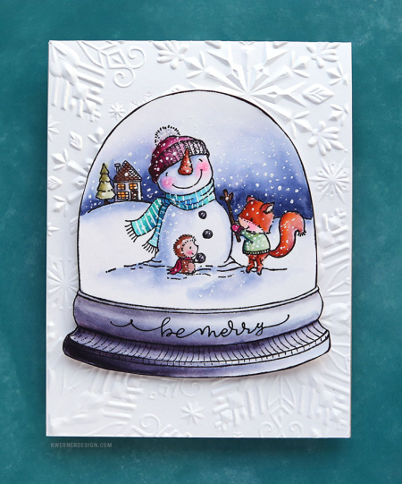 Kristina Werner - Winter Friends Card