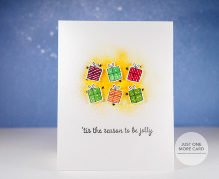 Julia Altermann - Merry Thoughts Present Card