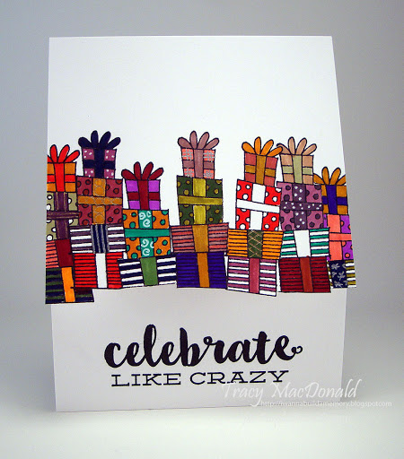 Tracy MacDonald - Stacked Gifts Card