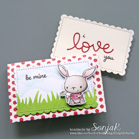 Sonja Kerkhoffs - Chloe Be Mine Valentine Card