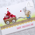 Anna Lorenzetto - Happy Valentine's Day Winston and Wagon