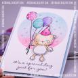 Agnieszka Danek-Wisniak - Happy Birthday Card - detail