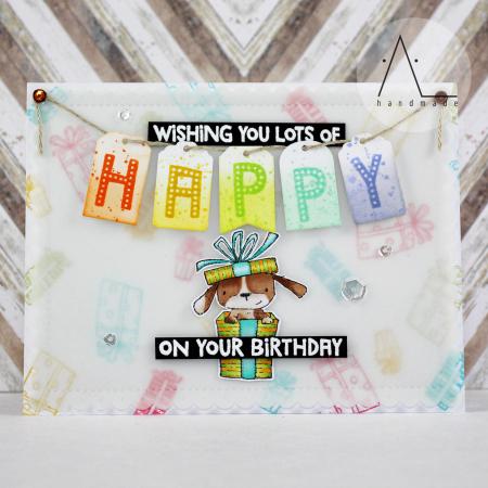 Anna Lorenzetto - Happy Birthday Elm Card