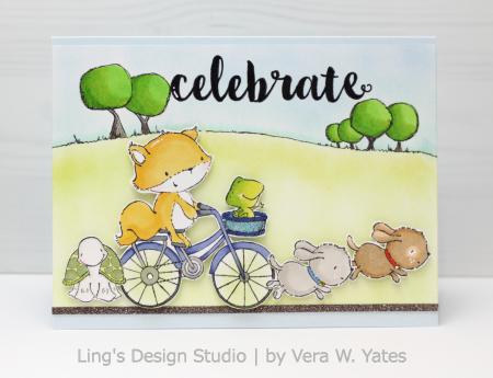 Vera Yates - Free Spirits Celebrate Card