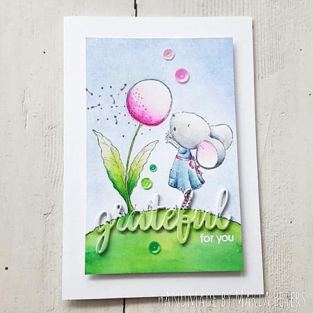 Maria Peters - Wishing Card