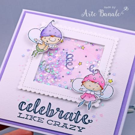 Agnieszka Danek-Wisniak - Flynt and Goldie Celebrate Birthday Card - detail