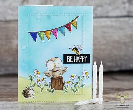 Sandra bischoff - Flora Bunting Card