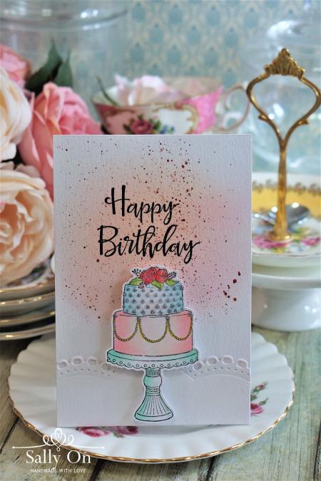 Sally On - Happy Birthday Cake