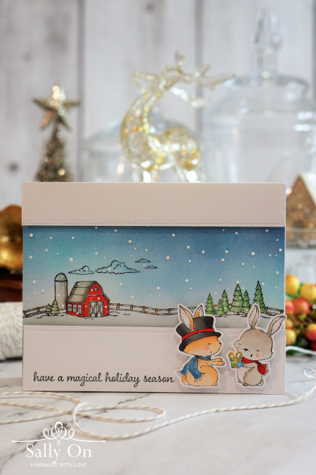 Sally On - Magical Holiday with Ace  and Pepper