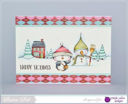 Susen Srb - Snow  Filbert  Home  sweet Home  Essential Happy Sentiment