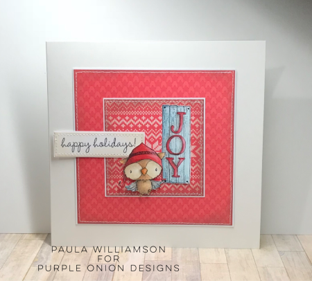 Paula Williamson - Snowy Joy Card