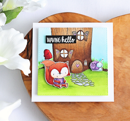 Michelle Short -Treehouse Card