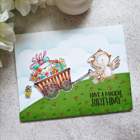 Rowena Miniaci - Hoot and Elm in Cart Card