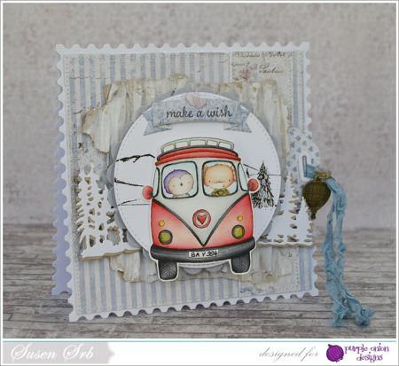 Susen Srb - VW Card - side