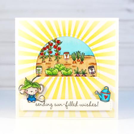 Amy Yang - Veggie Garden Card