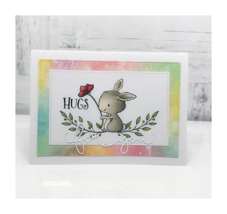 Debra James - Bella and Floral End Notes Card