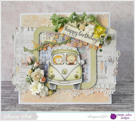 Susen Srb - VW Happy Birthday Card