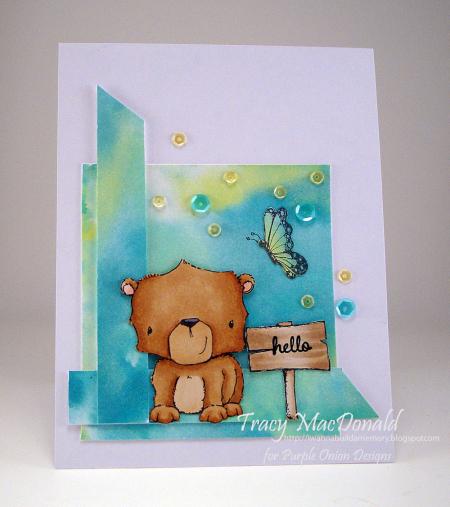 Tracy MacDonald-bear sign