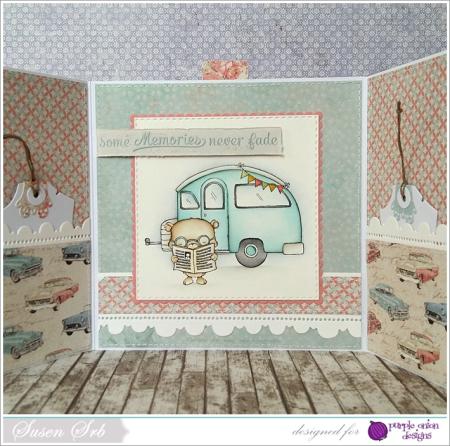 Susen Srb - VW and Camper Card inside