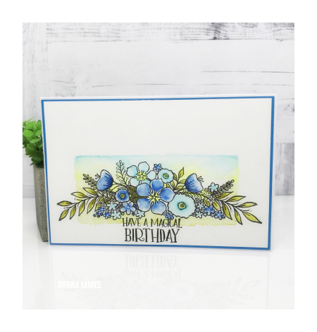 Debra James - Floral Spray Card