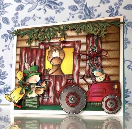 Kathy Racoosin - Barn Card