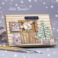 Agnieszka Danek-Wisniak - Bessie Barn Door Its Christmas Time - detail