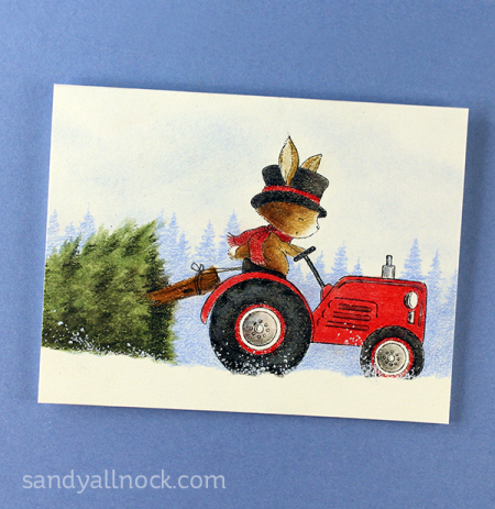 Sandy-Allnock-Tree-Farm-tractor