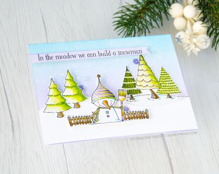 Tatsiana Trafimvich - Snow Card 2