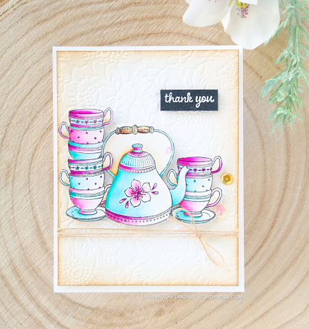 Tatiana Trafimovich - Tea Time Card